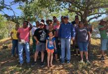 Gomez Cazarín recorre comunidades de su pueblo natal