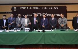 Conversatorio sobre Ley Nacional de Ejecución Penal en el Poder Judicial del Estado