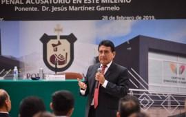 Llevará años perfeccionar sistema penal acusatorio en México: Magistrado Jesús Martínez