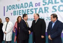 Realizan jornada de salud y bienestar social del IMSS en el Poder Judicial del Estado