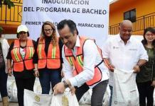 Participan diputadas de Morena en Brigadas Itinerantes en Nautla con el Gobernador