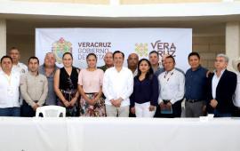 Encabeza Gobernador Mesa para la Construcción de la Paz Región Tantoyuca