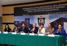 Presidente del TSJ, Edel Álvarez, clausura Diplomado en Justicia Restaurativa del CEJAV