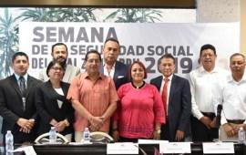 Concluye la Semana de la Seguridad Social 2019, en el Congreso del Estado