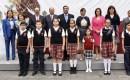 Centro Estatal de Justicia Alternativa de Veracruz encabeza ceremonia de Honores a la Bandera