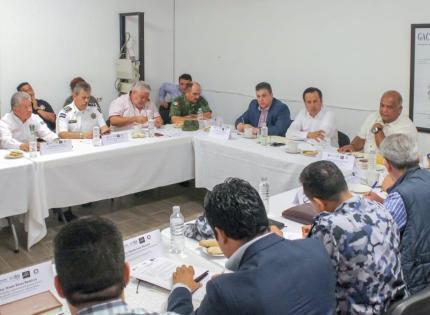 Anuncia Gobernador instalación de Guardia Nacional en Coatepec