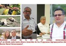 Realidad Alternativa de la 4T, en el Campo Veracruzano…