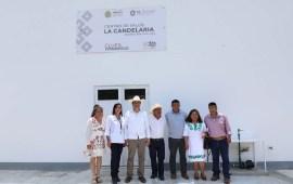 Supervisa Cuitláhuac reconstrucción de camino a Zontecomatlán
