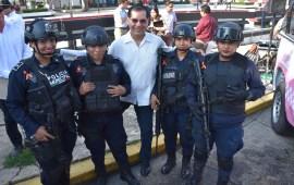 Invierte Gobierno de Coatzacoalcos 4.8 mdp en materia de seguridad