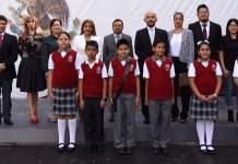 Dirección de la Defensoría y del Registro Estatal de Peritos encabeza ceremonia de Honores a la Bandera