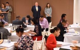 Aplican exámenes teóricos y prácticos a aspirantes a jueces microrregionales del PJE