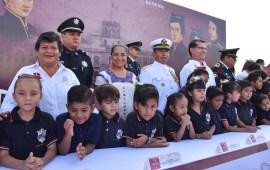 En Coatzacoalcos, conmemoran 172 Aniversario de la Gesta Heroica de los Niños Héroes