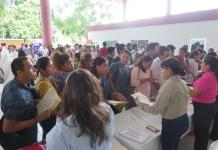 Se ofertaron 500 vacantes en Feria de Empleo, en Poza Rica