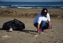 Limpian más de un kilómetro de playa en Coatzacoalcos