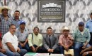 Dialoga Gómez Cazarín, con representantes de comunidades de Hueyapan de Ocampo
