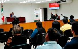 Capacitan a servidores públicos del Distrito Judicial de Huatusco en materia de derechos humanos durante la etapa de juicio oral