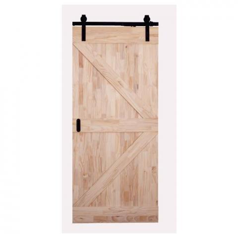 porte coulissante bois karl 930x2115cm
