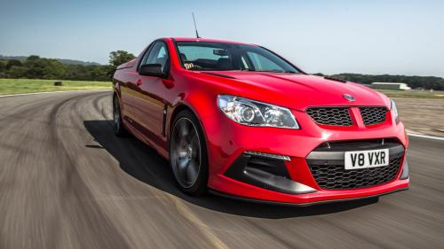 small resolution of 2017 vauxhall vxr8 maloo circuit test front corner photo 25 of 26