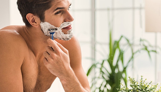 mens grooming category