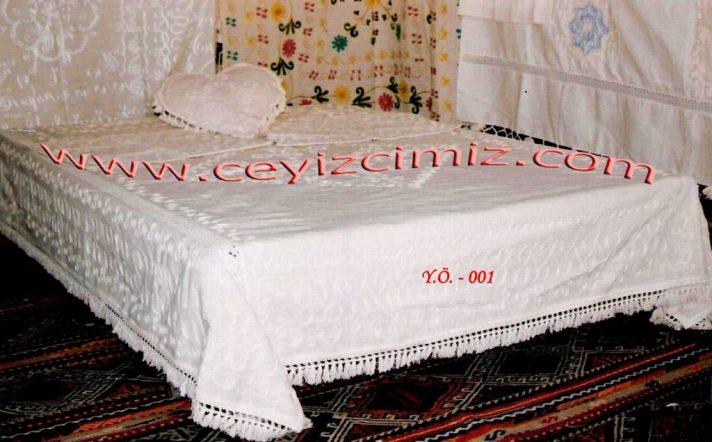 Buldan keteni yatak örtüsü