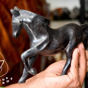 ebony wooden horse