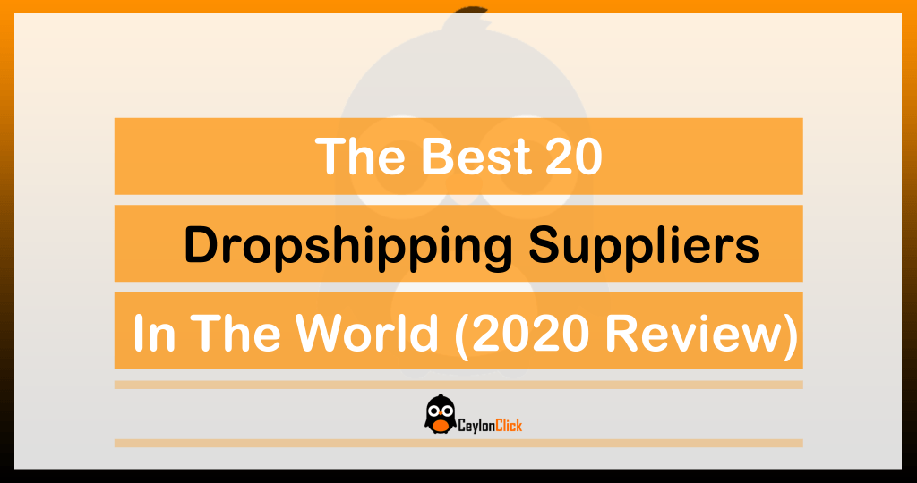 The best Dropshipping Suppliers