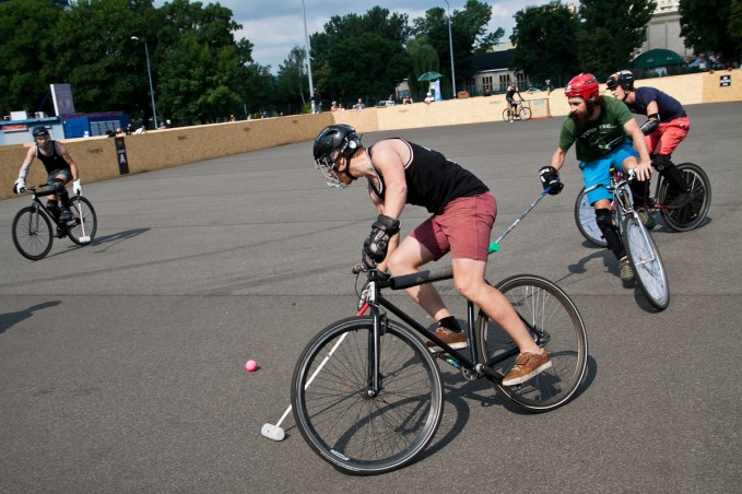 European Hardcourt Bike Polo Championship Krakow 2013