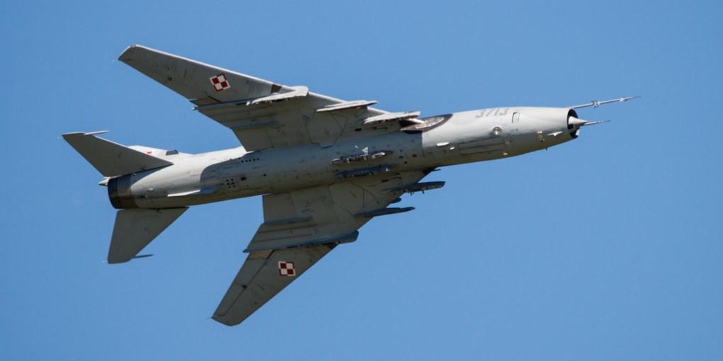 Polish Air Force Sukhoi Su-22 m4