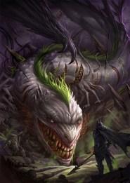 chaos_wyrm_vs_dark_knight_by_sandara-d7787ik