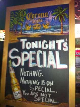 TonightsSpecial