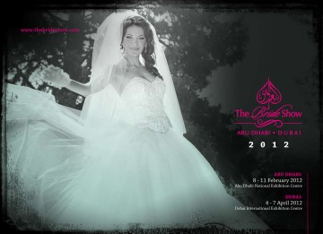 Bride Show Abu Dhabi and Dubai 2012 Sales Brochure Cover