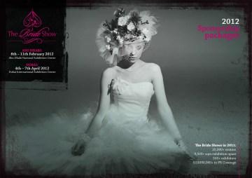 Bride Show 2012 sponsorship brochure cover