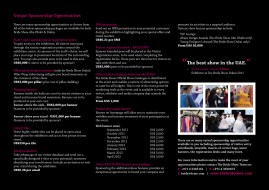 Bride Show 2012 sponsorship brochure page10