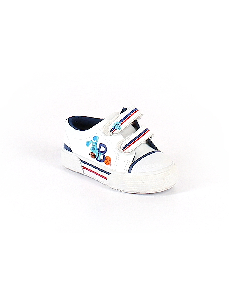 Blues Clues Shoes : blues, clues, shoes, Blue's, Clues, Solid, White, Sneakers, ThredUP