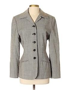 Valerie stevens wool blazer size also women   clothing on sale up to off retail thredup rh
