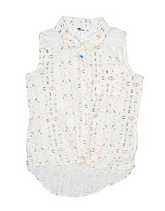 Epic threads sleeveless button down shirt size  large youth also girls  clothing on sale up to off retail thredup rh