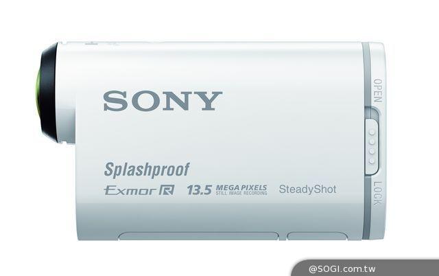 Sony Action Cam運動攝影機HDR-AS100V動態防手震、防潑灑新上市 - SOGI 手機王