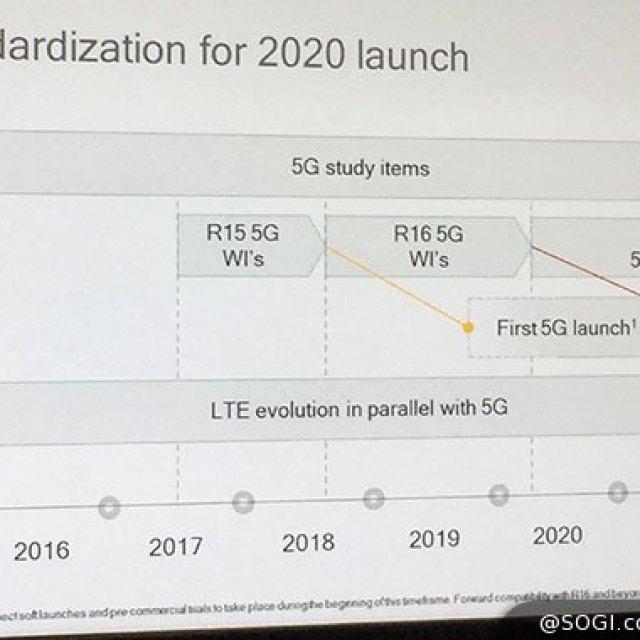 高通談5G:標準化通過,處理器很快就會推出!