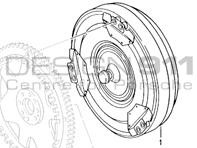 Tiptronic Torque Converter Porsche 986 Boxster 98631600100