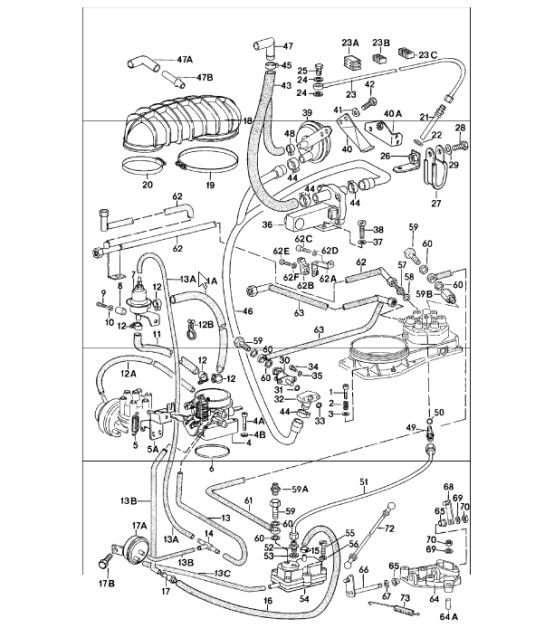 1984 Porsche 944 Fuse Box Diagram. Porsche. Auto Fuse Box