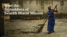 For Malti Devi, the Swachh Bharat job isnt about Gandhis vision. Its just a job that pays - and barely that,video
