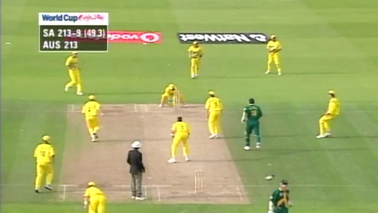 On this day in 1999: The greatest game of all time Cricket World Cup 1999 South Africa vs Australia