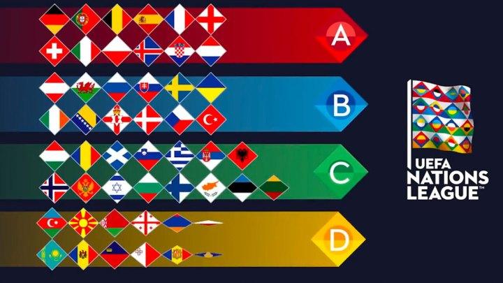 Il logo della Uefa Nations League. | Numerosette Magazine