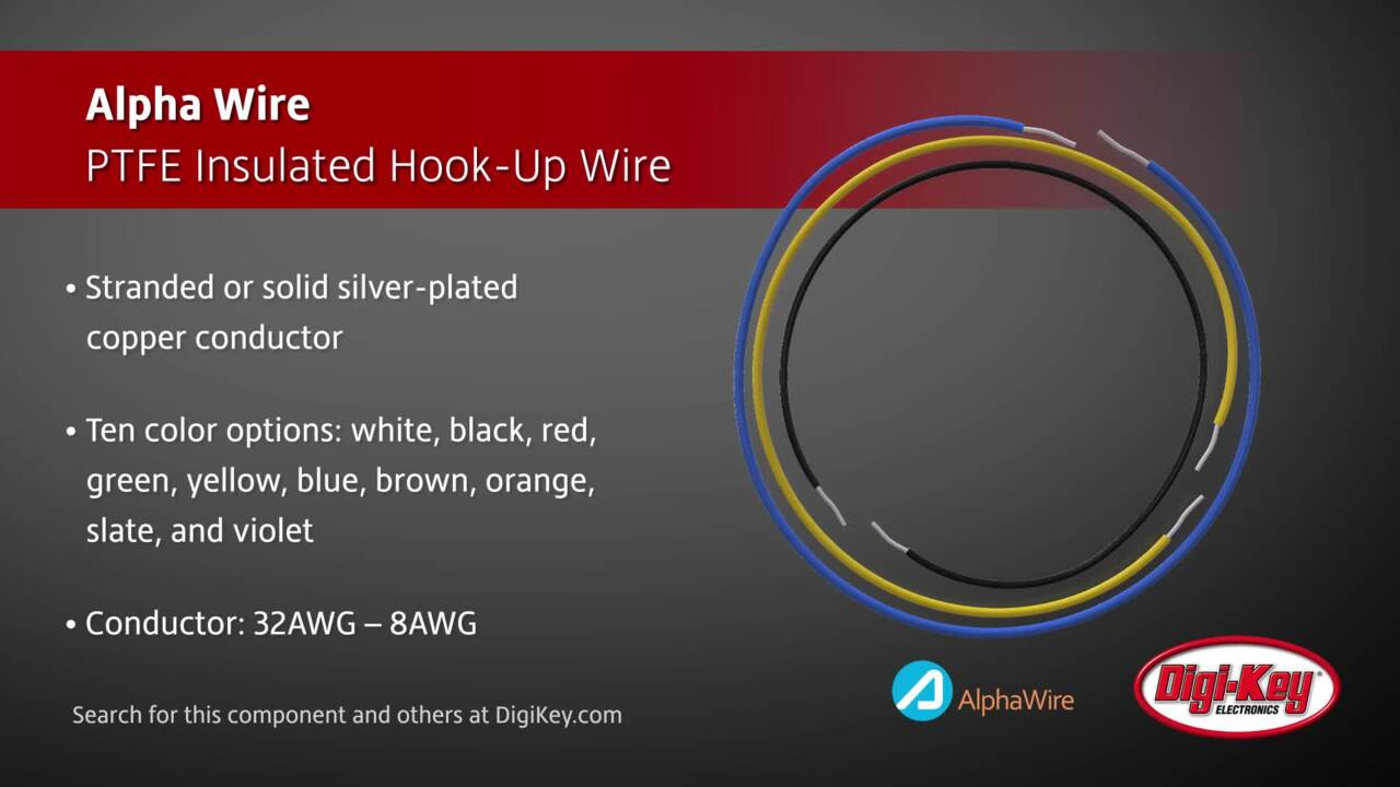 hight resolution of alpha wire ptfe insulated hook up wire digi key daily