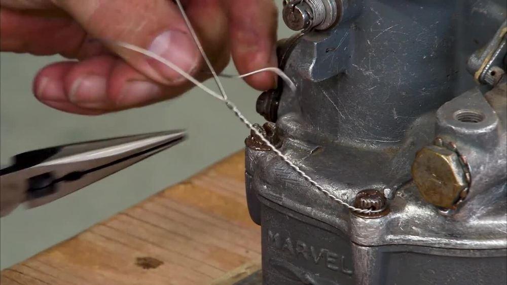 medium resolution of safety wiring by hand