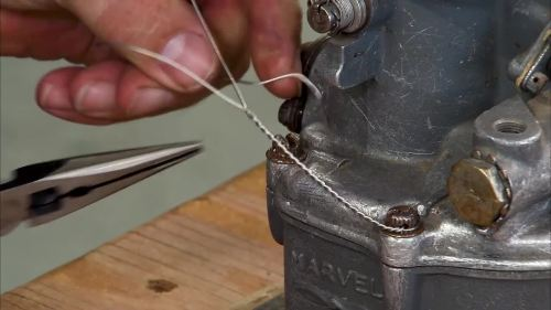 small resolution of safety wiring by hand