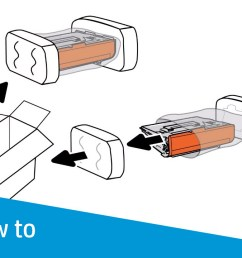 removing and replacing the toner cartridge hp laserjet enterprise mfp m631 m632 m633 series [ 1280 x 720 Pixel ]