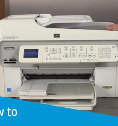 how to manually clean a removeable printhead on hp printers hp support video gallery [ 1280 x 720 Pixel ]