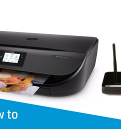 how to connect an hp printer to a wireless network using wi fi protected setup [ 1280 x 720 Pixel ]