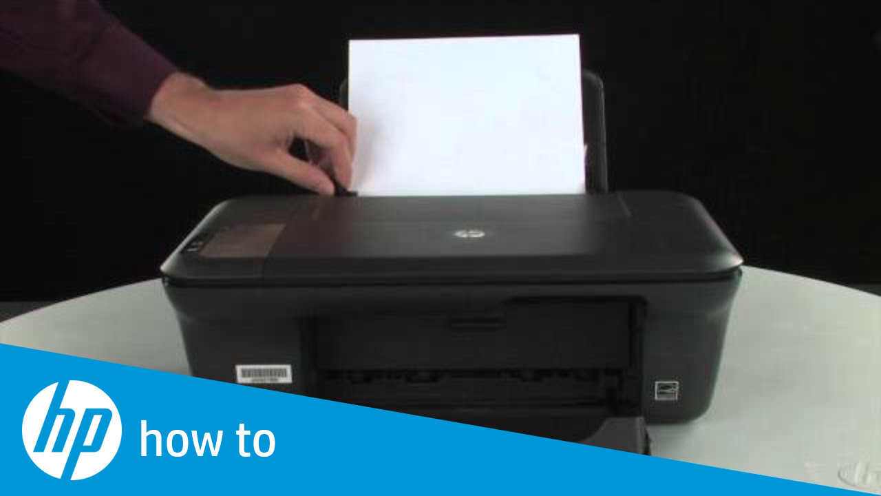 Printing A Test Page Hp Deskjet 2050 All In One Printer
